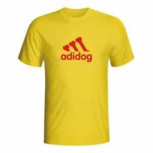 Adidog majica z lastnim napisom