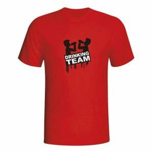 Drinking team, majica za fantovščino