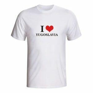 I love yugoslavia, majica