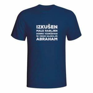 Izkušen malo rabljen Abraham, majica