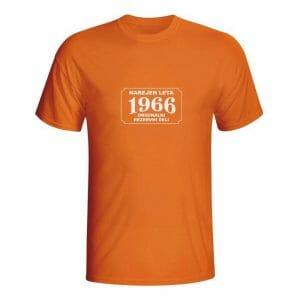 Letnik 1966, vsi originalni deli, majica