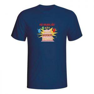 Vse najboljše, majica za rojstni dan