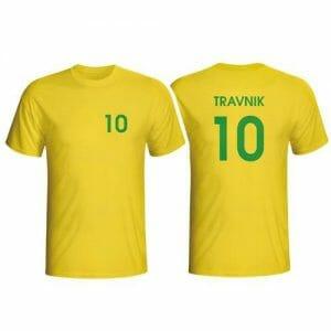 Ime in številka na majici po želji, majica