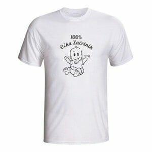 100% očka začetnik majica