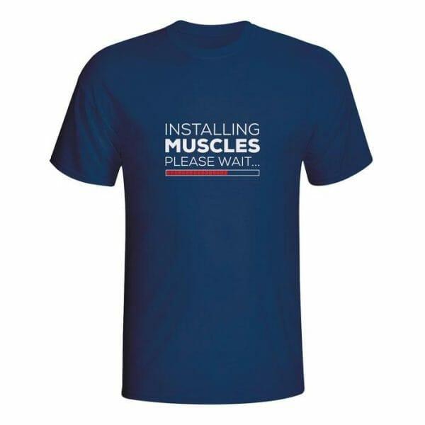 Installing Muscles, please wait, majica