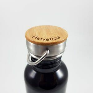 Premium flaška z gravuro, aluminijasta 800 ml