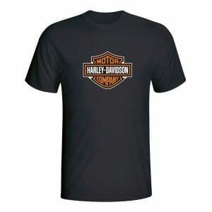 Harley Davidson Vintage Logotip, majica za motoriste