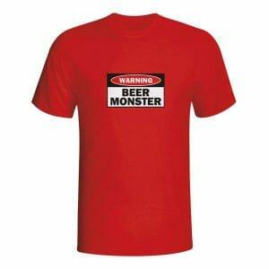 Warning Beer Monster, majica