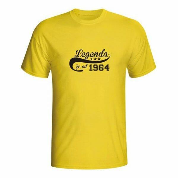 Legenda že od 1964, majica z lastno letnico