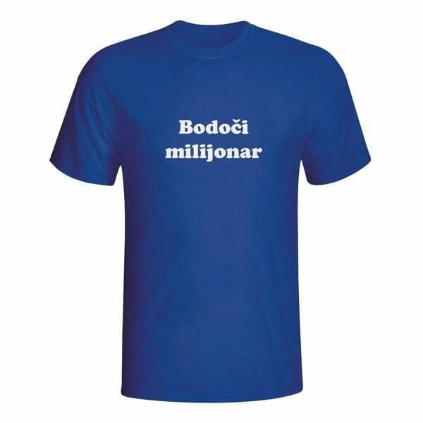 Bodoči milijonar, majica