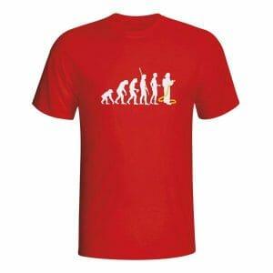 Evolucija gasilec, majica