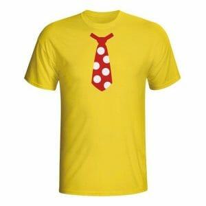 Barvna kravata, majica