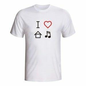 House Music Love, majica
