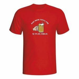 Rad imam točen pir, ne pa da zamuja, majica