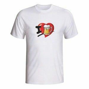 Ljubim pivo, majica