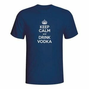 Keep Calm and drink Vodka, majica