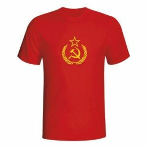 Sovjetska zveza CCCP logotip, majica