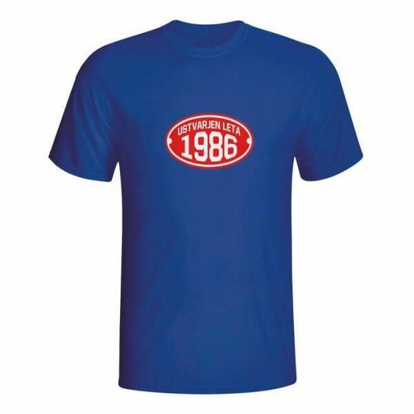 Ustvarjen leta 1986, majica