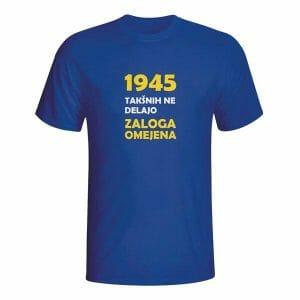 1945 takšnih ne delajo več, majica z napisom po meri