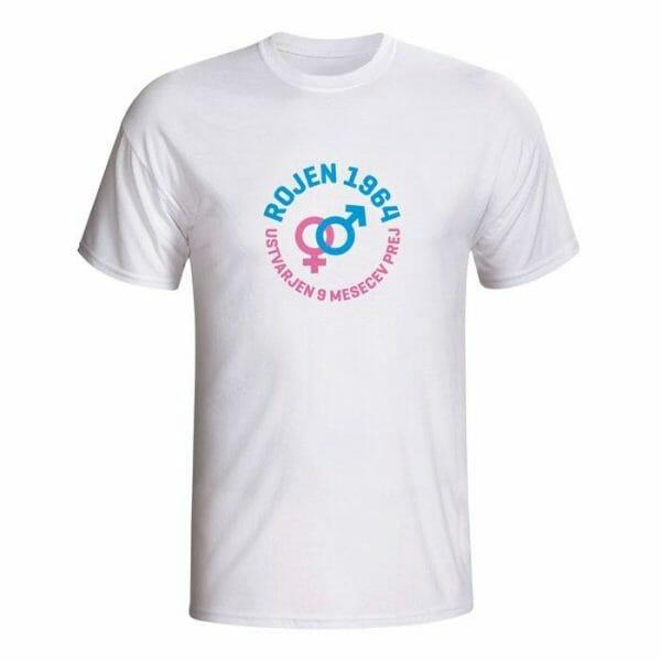 Rojen 1964, ustvarjen 9 mesecev prej, majica