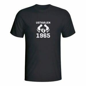 Ustvarjen 1965, majica