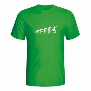 Nogometaš evolucija, majica