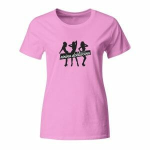 Majica za dekliščino z napisom po želji