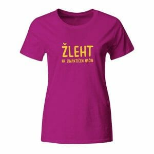 Žleht na simpatičen način, ženska majica