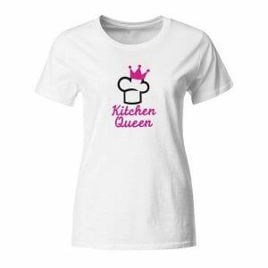 Kitchen Queen, majica z lastnim napisom