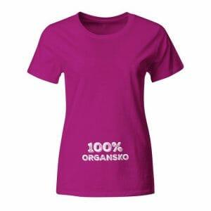 100% organsko, majica za nosečnice