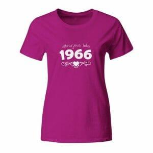 Ustvarjena leta 1966, majica za rojstni dan