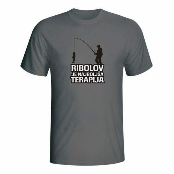 Ribolov je najboljša terapija, majica