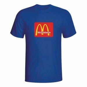 McDiabetis, majica