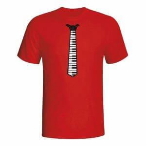 Piano kravata, majica