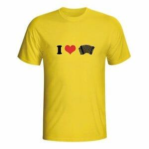 I love harmonika, majica