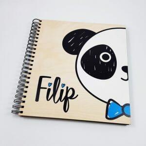 Otroški foto album Panda